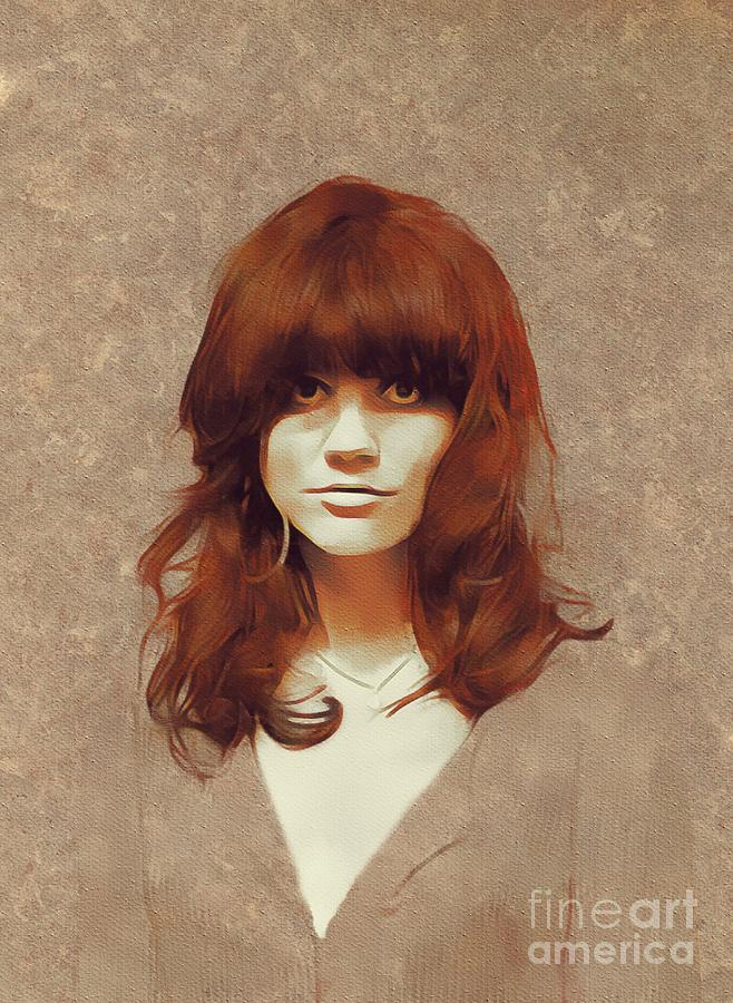 Linda Ronstadt, Music Legend Painting