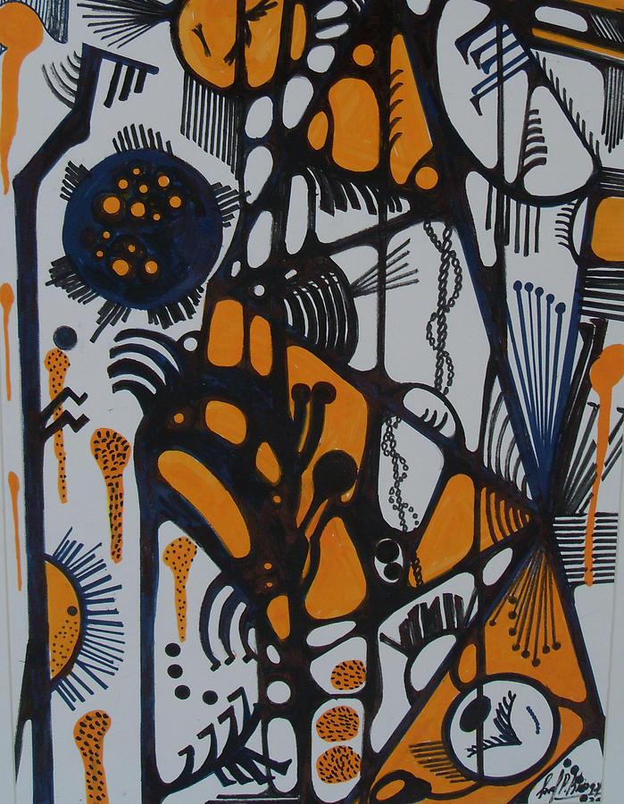 Lines Painting by Carol P Kingsley