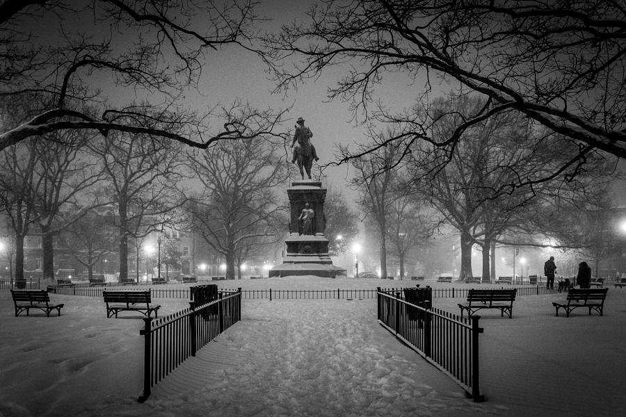 Washington Photograph - Logan Circle by Robert Davis