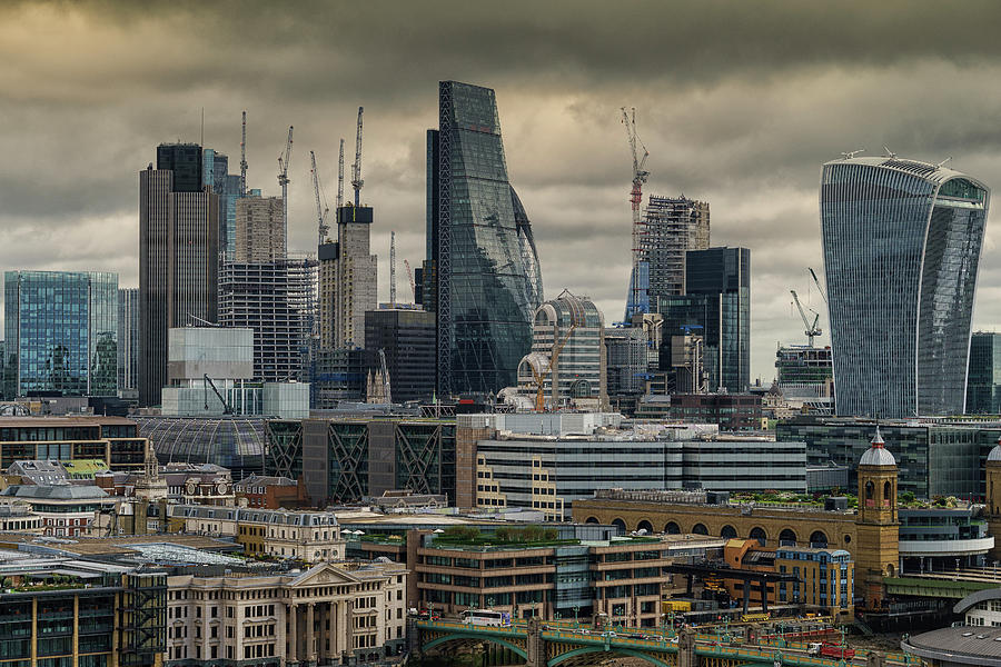 London City by Uri Baruch