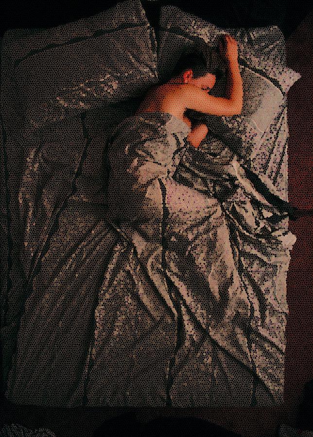 Sleep Digital Art - Lone Sleeper 119 by Spagna - Bonfilio