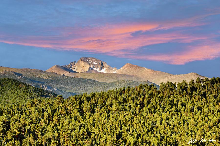 Longs Peak at Sunrise by Jeff Goulden