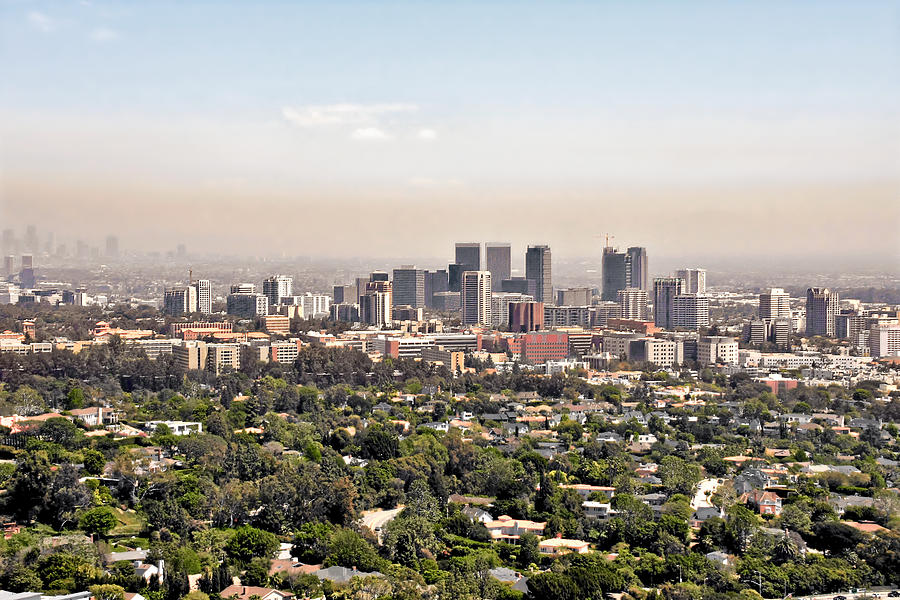 Cityscape Photograph - Los Angeles California - Glitter And Trouble by Christine Till