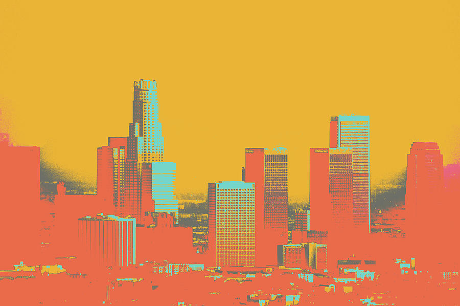 La Mixed Media - Los Angeles by Shay Culligan