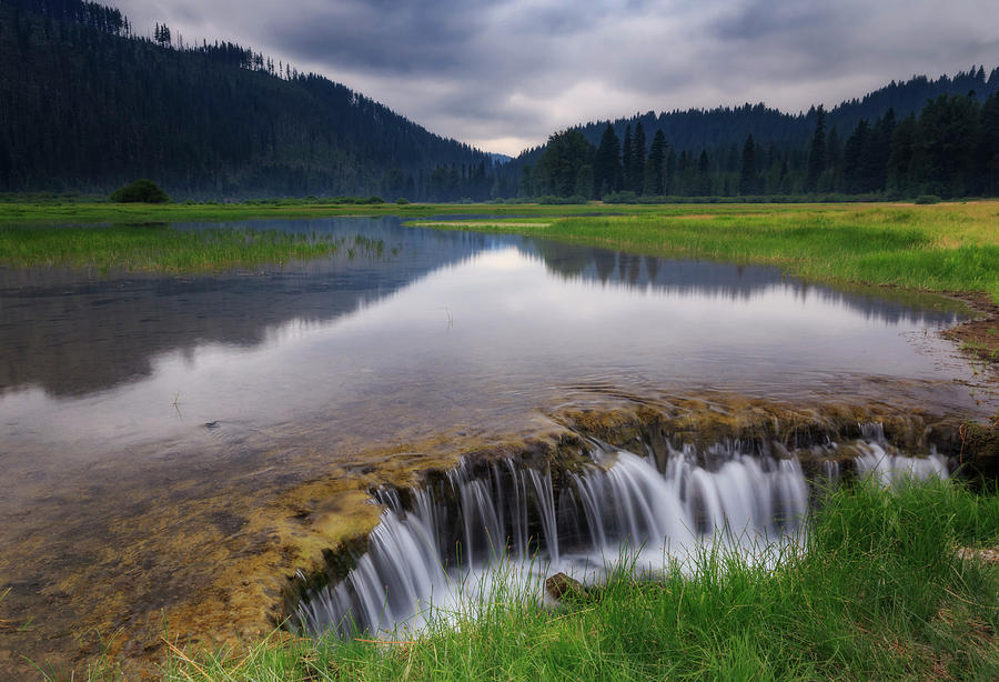 Water Photograph - Lost Lake by Cat Connor