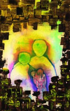 Love Painting - Love by Marwan Al-Allan