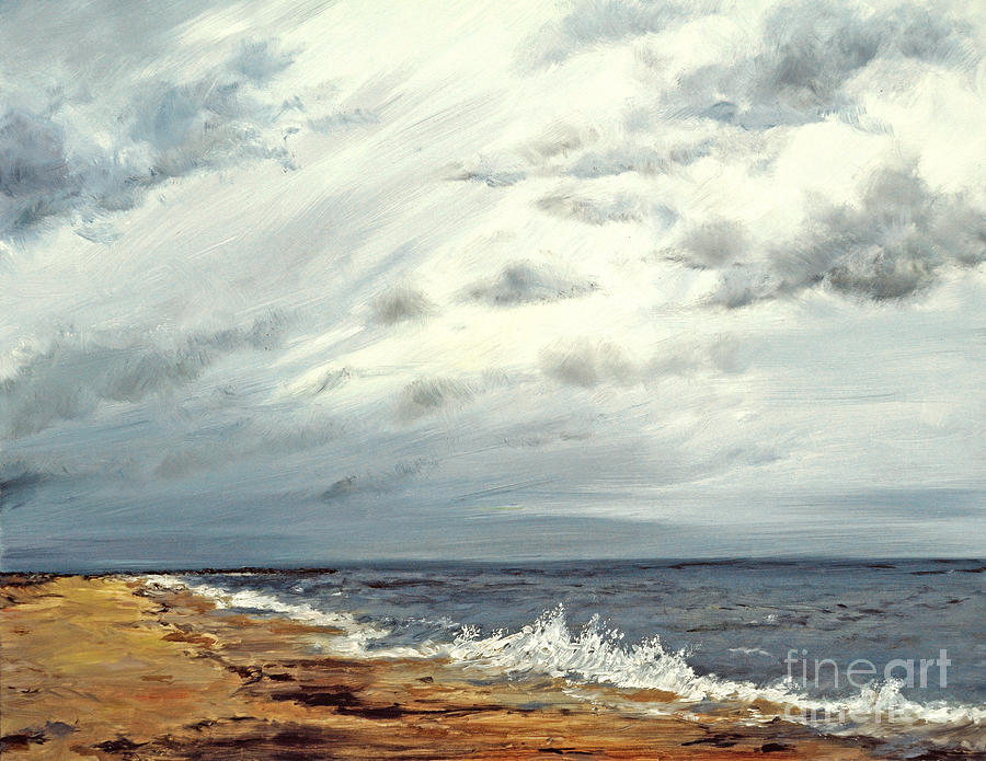 Point Pleasant Painting - Low Tide by Paint Box Studio