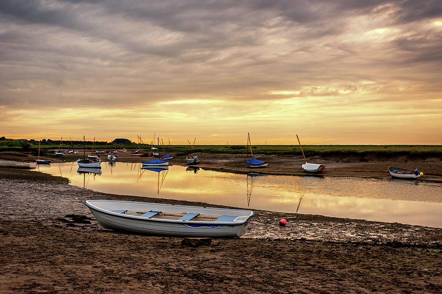Tide Photograph - Low Tide by Nick Bywater