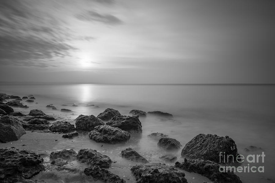 Sandy Hook Photograph - Low Tide Sunset  by Michael Ver Sprill