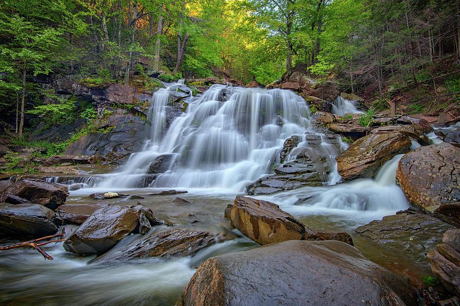 Kaaterskill Falls Photograph - Lower Kaaterskill Falls by Rick Berk