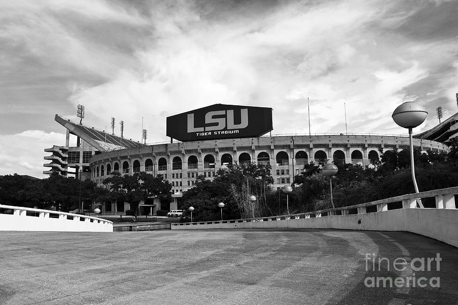 Lsu Photograph - Lsu Tiger Stadium by Scott Pellegrin