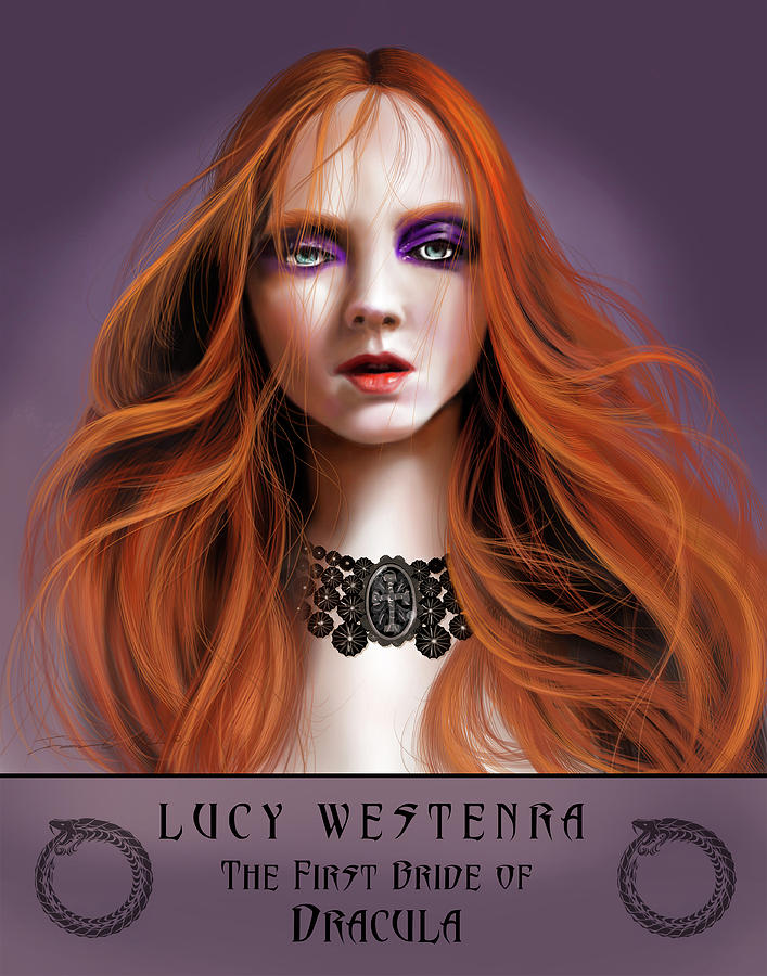 Lucy Westenra by James Christopher Hill