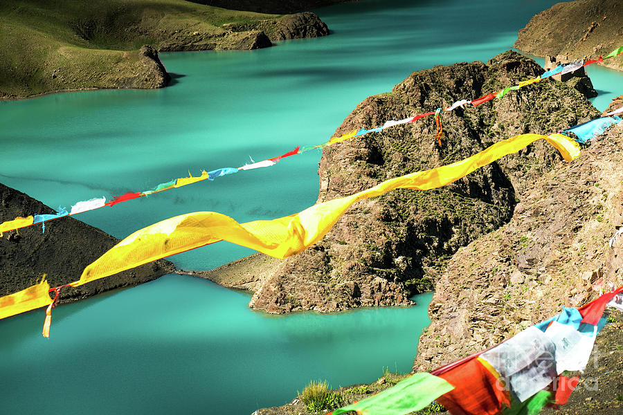 Tibet Photograph - Lungta The Himalayas Tibet Yantra.lv 2016  by Raimond Klavins