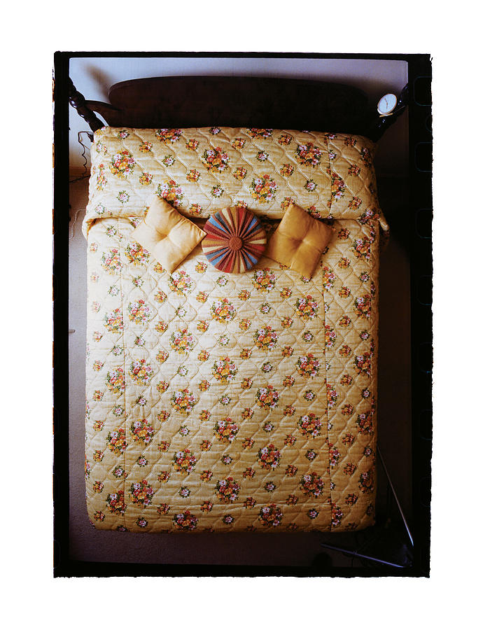 Sleep Photograph - Made Bed No.2 by Ted Spagna
