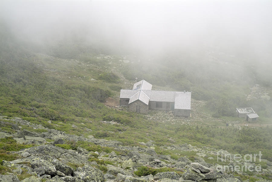 Hike Photograph - Madison Spring Hut - White Mountains New Hampshire  by Erin Paul Donovan