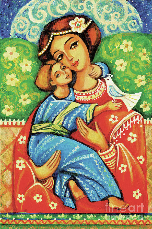 Madonna and Child by Eva Campbell