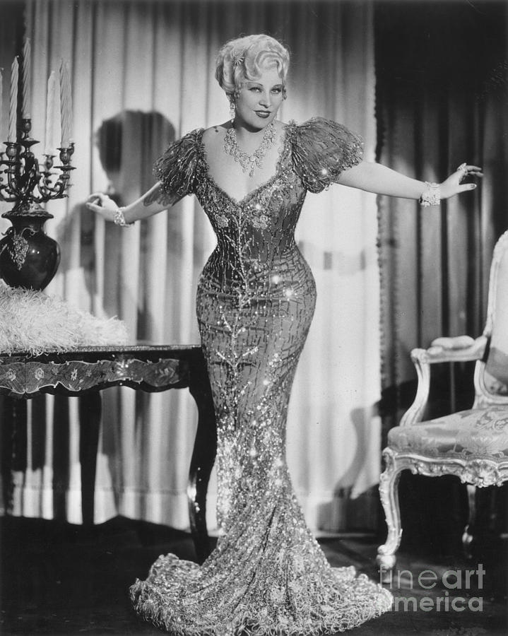 20th Century Photograph - Mae West (1892-1980) by Granger