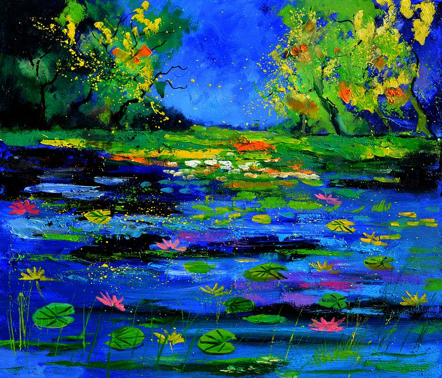 Landscape Painting - Magic pond 765170 by Pol Ledent