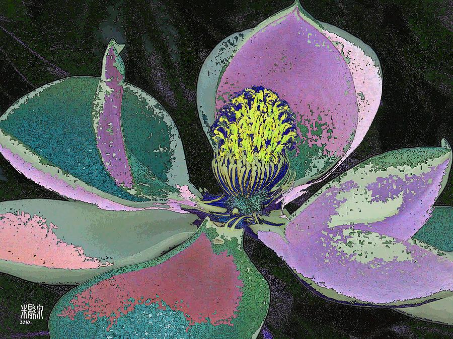 Flowers Digital Art - Magnolia by Michele Caporaso