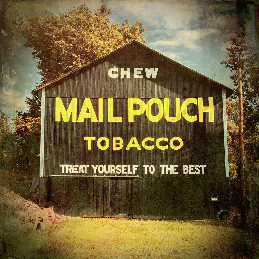 Mail Pouch Tobacco Photograph - Mail Pouch Barn - Oh 93 #4 by Stephen Stookey