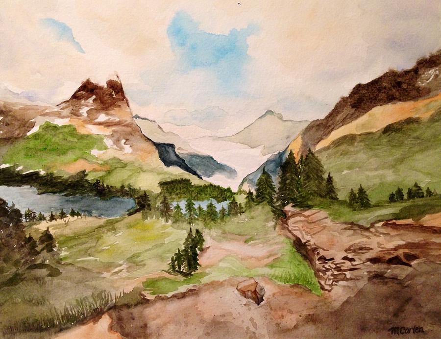 Majestic Mountains by M Carlen