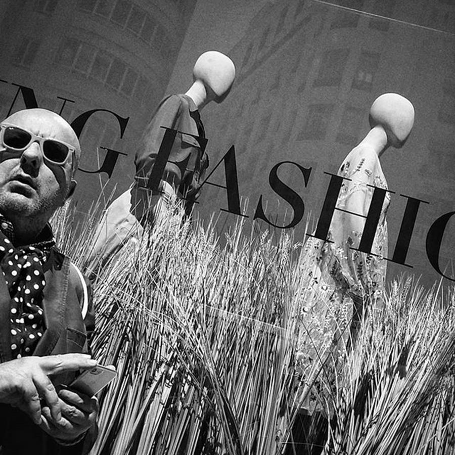 Sunglasses Photograph - #man #people #instapeople #streetpeople by Rafa Rivas