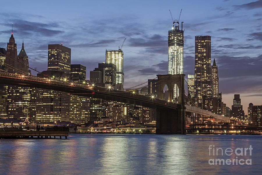 America Photograph - Manhattan Skyline New York by Juergen Held