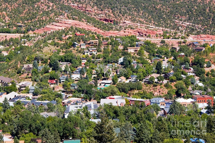 Manitou Springs Colorado Intemann Trail Photograph