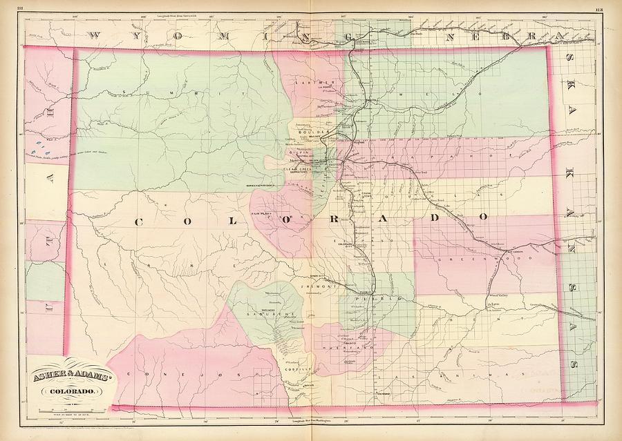 Map Digital Art - Map by Dorothy Binder