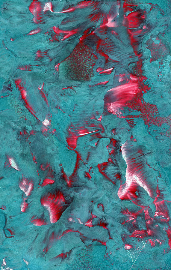 Marbled Painting - Marbled by Jason Girard