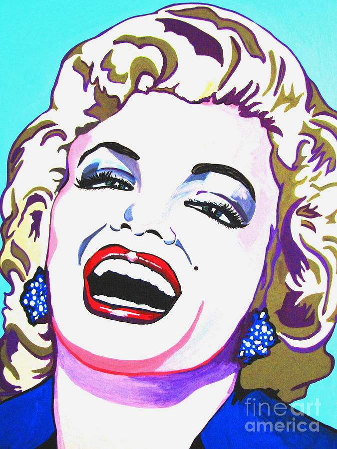 Marilyn Monroe Painting - Marilyn by Colleen Kammerer