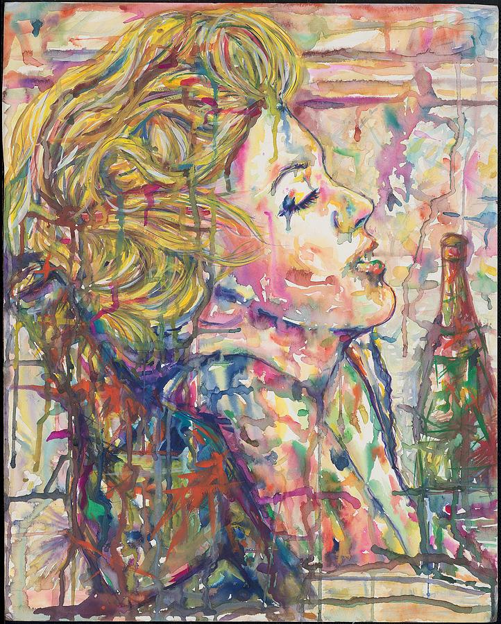 Marilyn Monroe Mixed Media - Marilyns Medicine by Joseph Lawrence Vasile