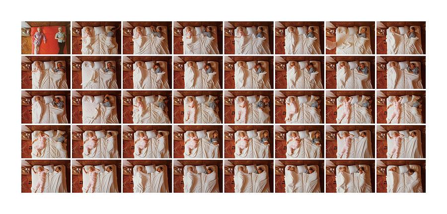 Sleep Photograph - Marion and Sylvio by Ted Spagna