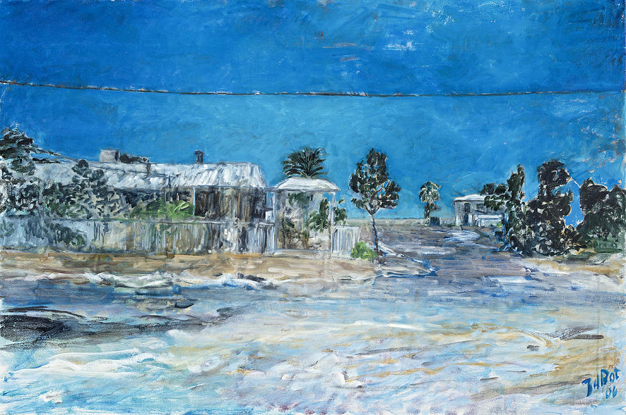 Australia Painting - Marree Village by Joan De Bot