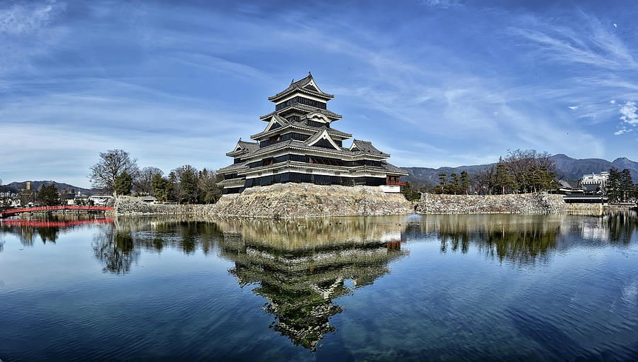 Matsumoto Castle Panorama by Kuni Photography