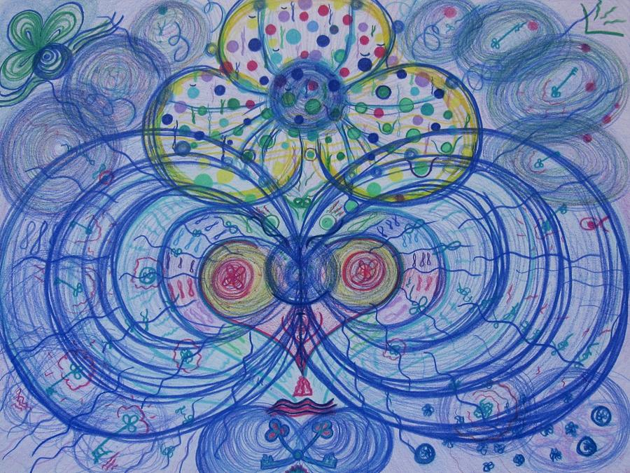 Matsuri Drawing by Elena Soldatkina