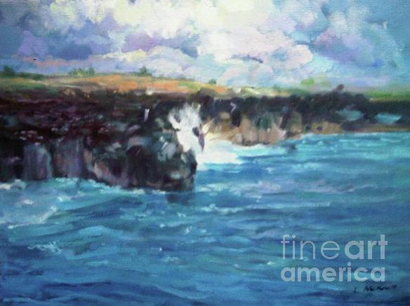 Maui Painting by Lisa McKnett