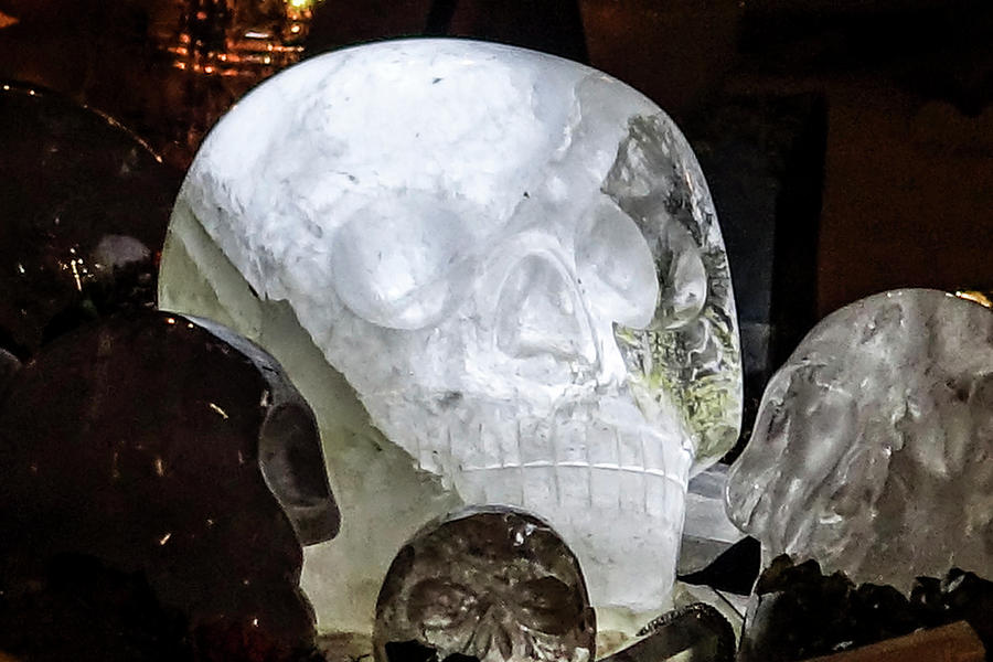 Max The Ancient Sacred Crystal Skull Photograph