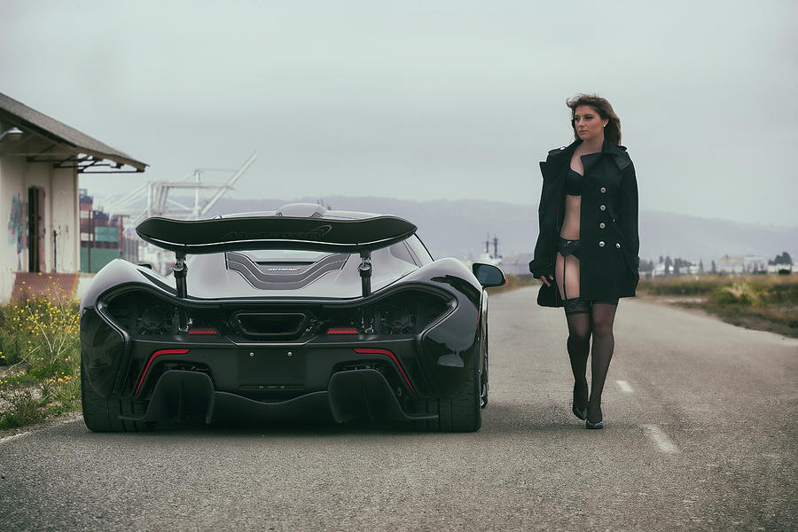 Mclaren P1 And Kyrstannie Photograph By Itzkirb Photography