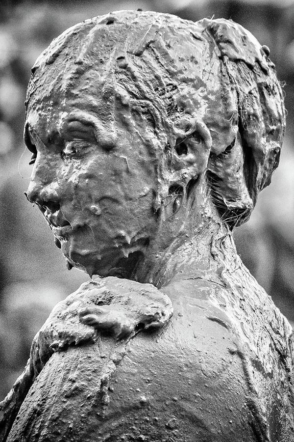 Woman Photograph - Me Mudder by Winnie Chrzanowski
