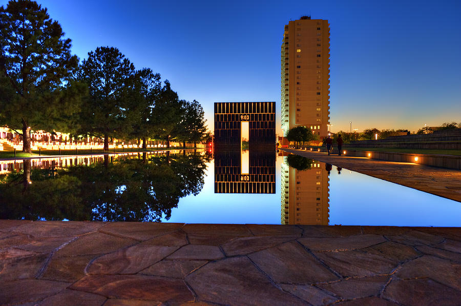 Architecture Photograph - Memorial by Malania Hammer
