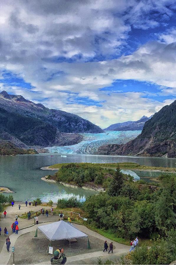 Mendenhall Glacier by Pamela Showalter
