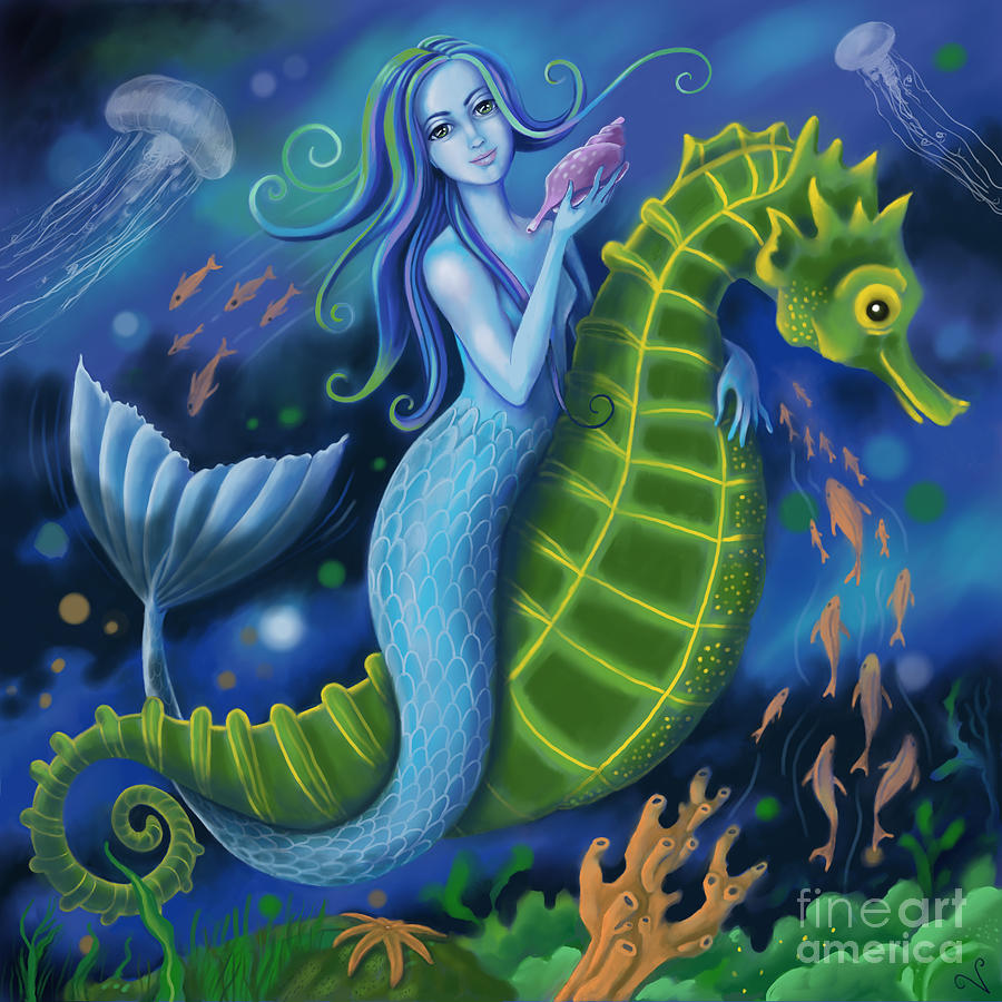 Mermaid by Valerie White