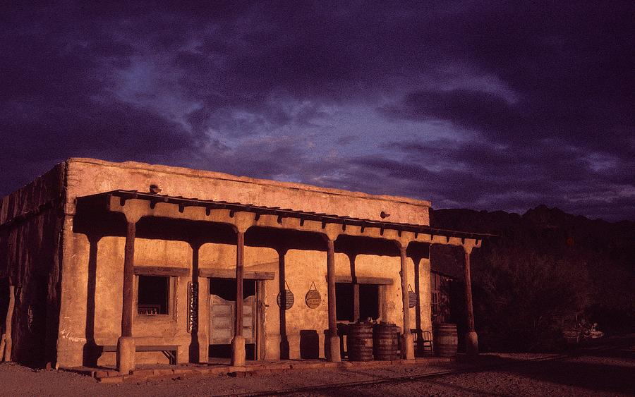Mexican Cantina Rio Lobo Set Old Tucson Arizona 1970-1980 Photograph by David Lee Guss