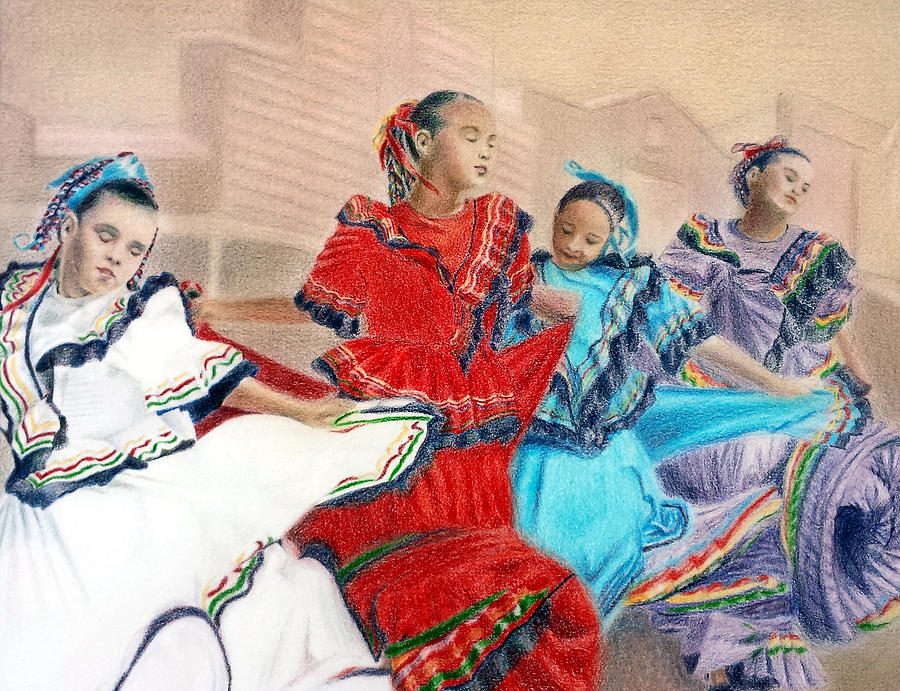Mexican Dancers In Tombstone