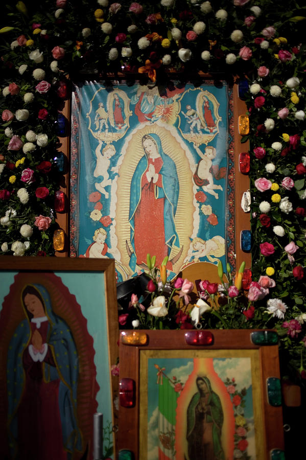 Catholic Photograph - Mexico Our Lady Of Guadalupe Pilgrimage by Chico Sanchez