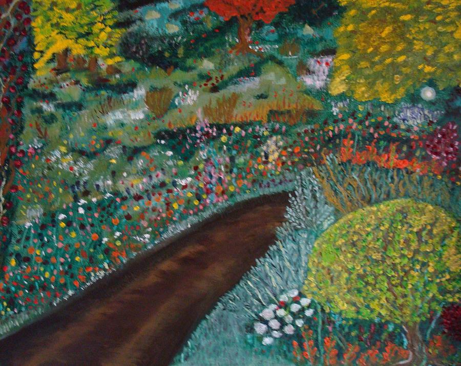 Nature Painting - Mi Camino by Sara Perez