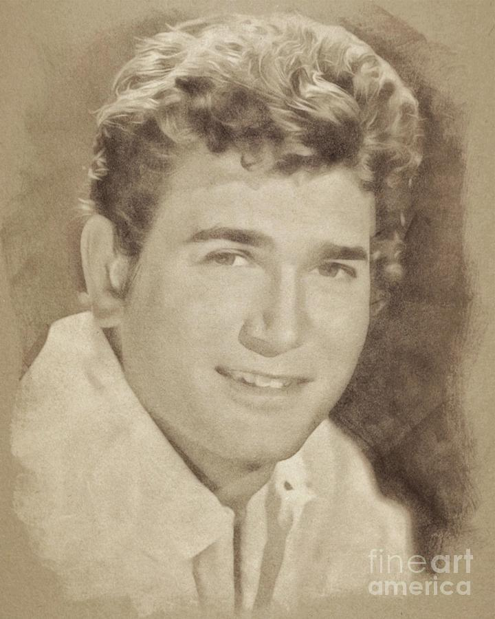 Michael Landon, Actor, Little House On The Prairie Drawing
