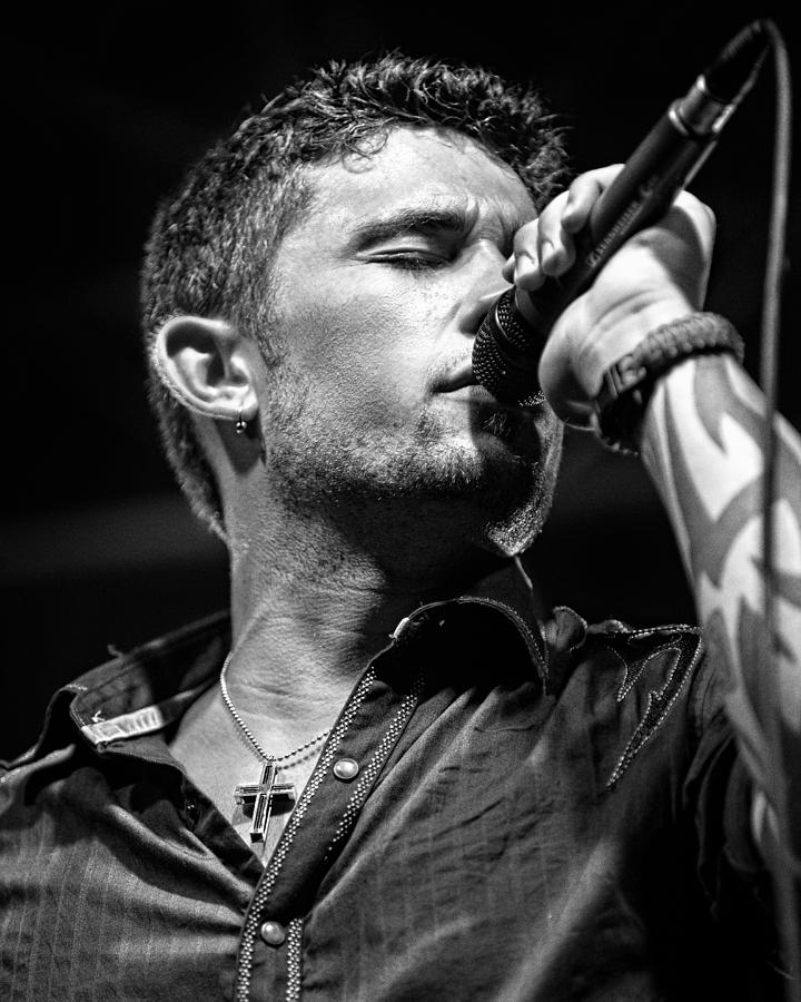 Country Music Photograph - Michael Ray by Christopher Holmes