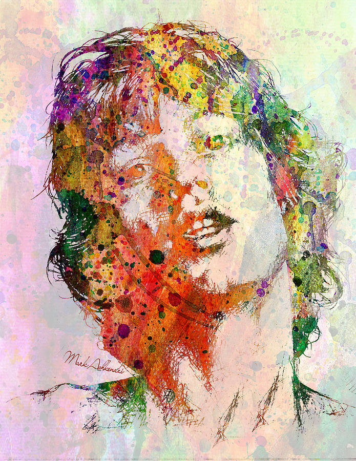 Mick Jagger Painting - Mick Jagger by Mark Ashkenazi
